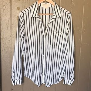 Cloth & Stone striped shirt